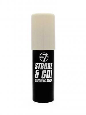 Baton Iluminator Argintiu W7 Strobe & Go - Moonlight, 5g1