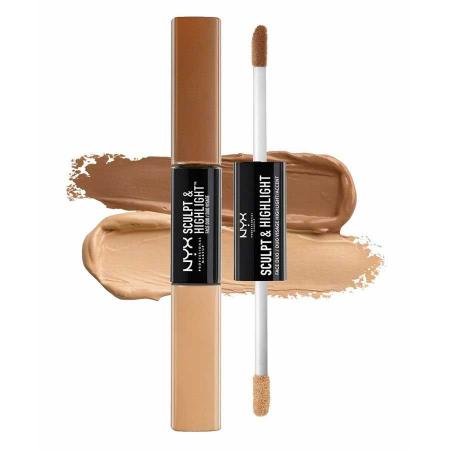 Contur ten NYX Professional Makeup Sculpt & Highlight Face Duo, Almond Light, 2 x 5.3 ml2