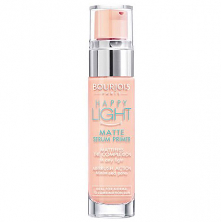 Baza de machiaj matifianta Bourjois Paris Happy Light Matte Serum Primer, 15 ml