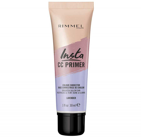 Primer corector Rimmel London Insta CC Primer Colour Corrector, Lavender, 30 ml1