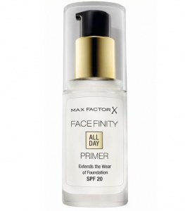 Baza de machiaj Max Factor Face Finity All Day Primer, 30 ml