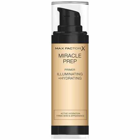 Baza de machiaj Max Factor Miracle Prep Illuminating + Hydrating Primer, 30 ml