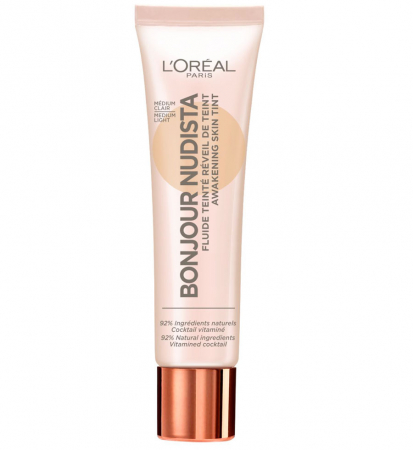 BB Cream L'Oreal Paris Bonjour Nudista, Medium Light, 30 ml0