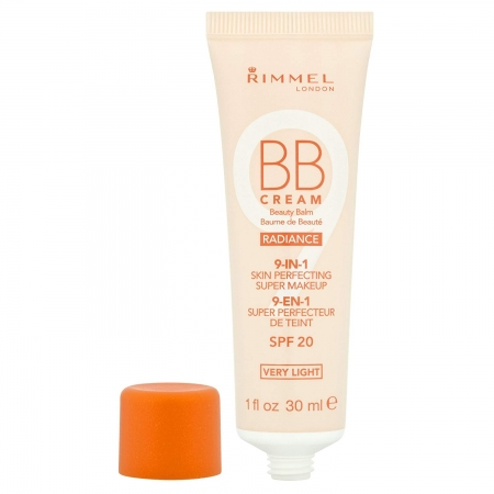 BB Cream Rimmel 9 In 1 Radiance - Very Light Skin, 30 ml1