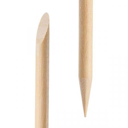 Betisoare din lemn de portocal pentru cuticule si unghii, 100 bucati2