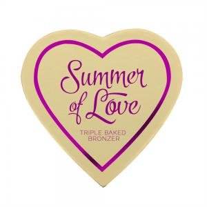 Blush Iluminator Makeup Revolution I Heart Makeup Blushing Hearts - Hot Summer Of Love, 10g1
