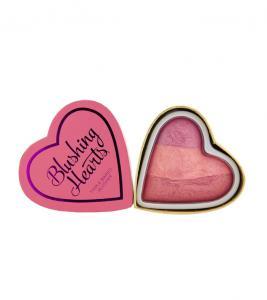 Blush Iluminator Makeup Revolution I Heart Makeup Blushing Hearts - Blushing Hearts, 10g