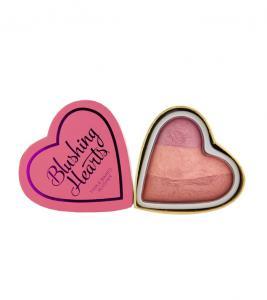 Blush Iluminator Makeup Revolution I Heart Makeup Blushing Hearts - Candy Queen of Hearts, 10g