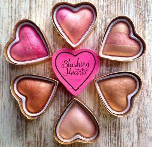 Blush Iluminator Makeup Revolution I Heart Makeup Blushing Hearts - Candy Queen of Hearts, 10g2