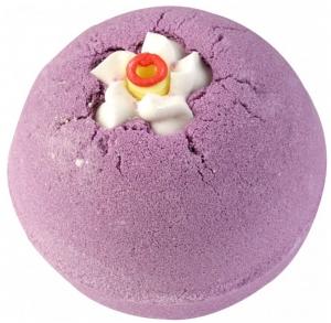 Bila efervescenta de baie Lavender Musk, Bomb Cosmetics, 160 gr