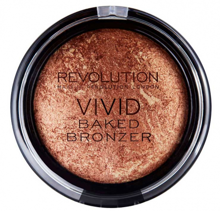Bronzer Iluminator Makeup Revolution Vivid Baked Bronzer, Rock On World, 13 g