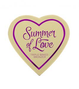 Iluminator Makeup Revolution I Heart Makeup Blushing Hearts Baked Highlighter - Summer Of Love, 10g1