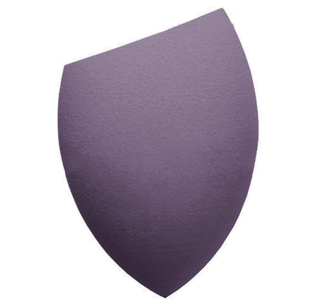 Burete Profesional Lacrima pentru Machiaj, Perfect Blending Cut Teardrop, Deep Purple