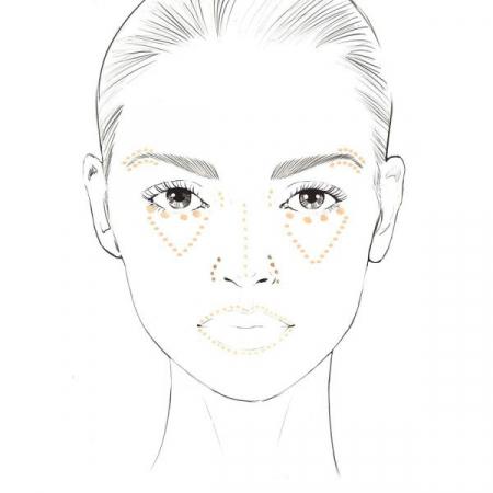 Anticearcan Corector Profesional INGRID Cosmetics Ideal Skin Concealer, Nuanta 10, 7 ml2