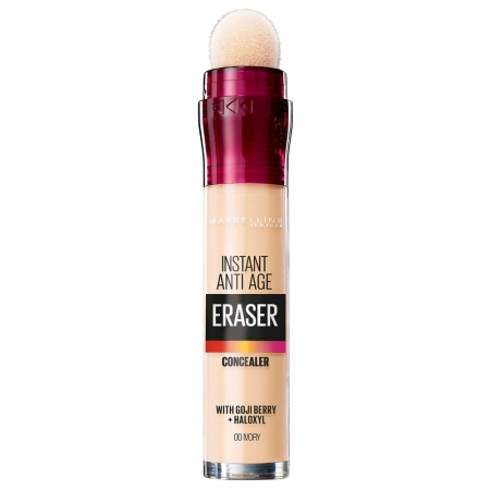 Anticearcan Maybelline Instant Anti-Age  Eraser Concealer  00 Ivory, 6.8 ml