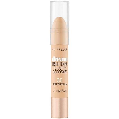 Creion Corector Maybelline New York Dream Brightening Creamy Concealer, 30 Light Medium3