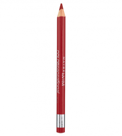Creion de buze MAYBELLINE New York Color Sensational Lip Liner, 547 Pleasure Me Red