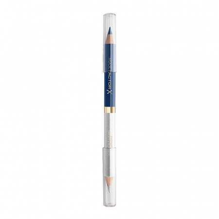 Creion de Ochi Max Factor Eyefinity Smoky Eye Pencil, 04 Persian Blue & Radiant Silver