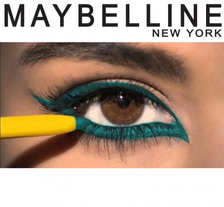 Creion De Ochi Retractabil Maybelline New York The Colossal Kajal 12 Hr, Turquoise1