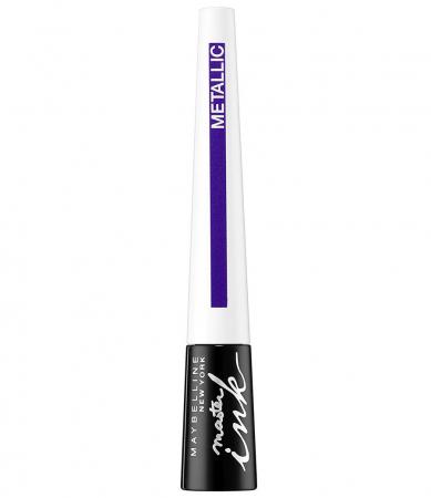 Tus de ochi MAYBELLINE Master Ink Liquid Eyeliner, Metallic, 32 Twilight Purple2
