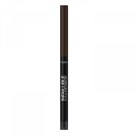 Creion de ochi rezistent la transfer L'Oreal Paris Infaillible Stylo 24h, 300 Chocolate addiction