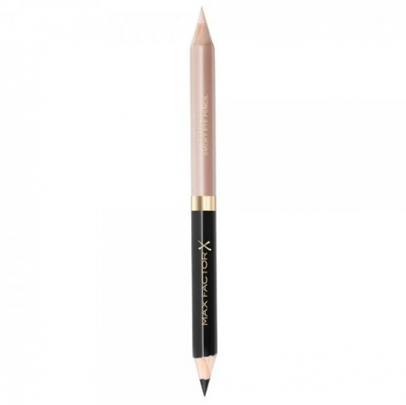 Creion de Ochi Max Factor Eyefinity Smoky Eye Pencil, 01 Black Onyx & Diamond Glitz