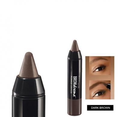 Creion pentru sprancene Maybelline New York BROW Drama Pomade Crayon, Dark Brown1