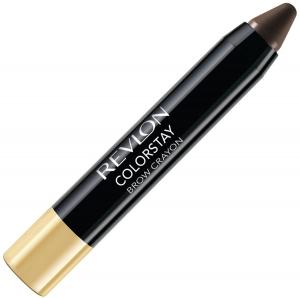 Creion Pentru Conturarea Sprancenelor Revlon ColorStay Brow Crayon - 315 Dark Brown, 2.6 gr