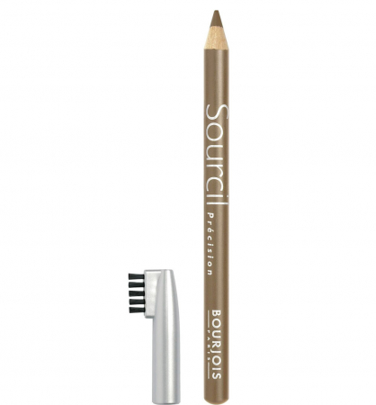 Creion pentru sprancene Bourjois Paris Sourcil Precision Eyebrow Pencil, 06 Blond Clair, 1.13 g0