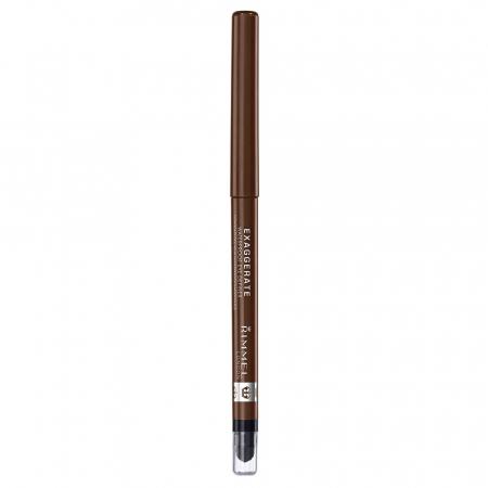 Creion de Ochi Rimmel London Exaggerate Waterproof Eye Definer, 212 Rich Brown2