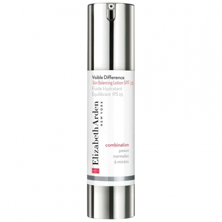Lotiune Hidratanta pentru Fata, Elizabeth Arden Visible Difference Skin Balancing, SPF 15, 49.5 ml
