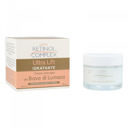 Crema hidratanta antirid cu Extract de Melc, Ultra Retinol Complex, 50 ml