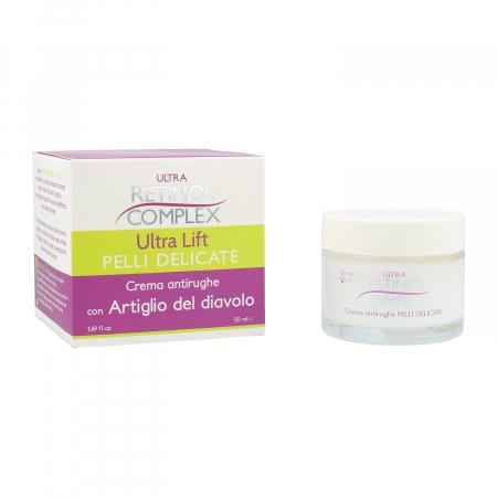 Crema antirid pentru piele delicata cu Gheara Diavolului, Ultra Retinol Complex, 50 ml
