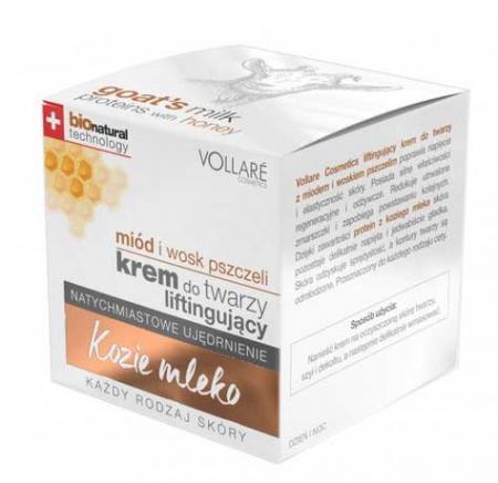 Crema cu 7 Uleiuri Esentiale si Proteine din Lapte de Capra VOLLARE Maximum Regeneration, BIO, 50 ml