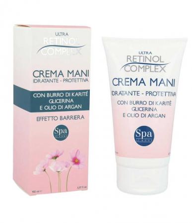 Crema de maini hidratanta si protectiva, Ultra Retinol Complex, 150 ml