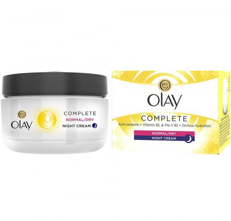 Crema De Noapte pentru Ten Normal/Uscat OLAY Complete Night Cream, 50 ml