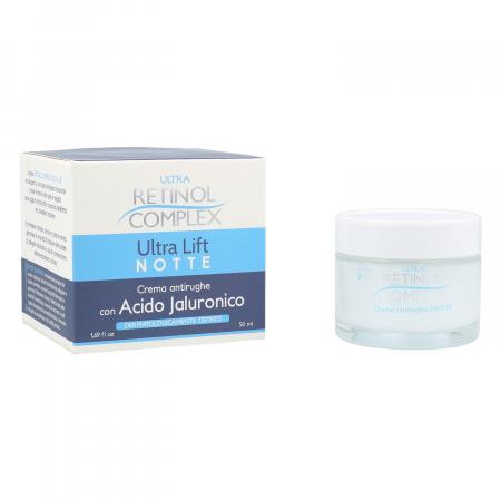 Crema de noapte antirid cu Acid Hialuronic, Ultra Retinol Complex, 50 ml