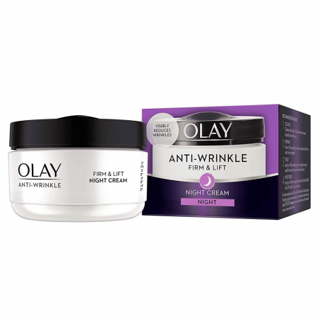 Crema De Noapte Anti-Rid OLAY Firm & Lift Night Cream, 50 ml