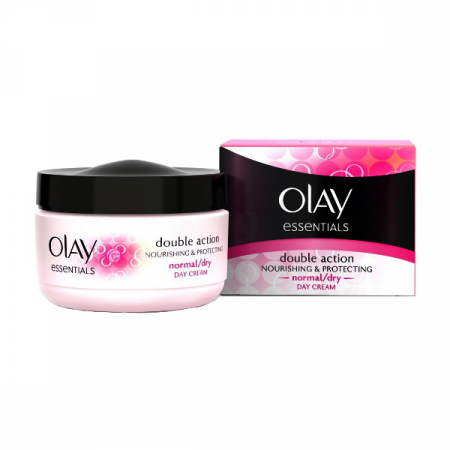 Crema De Zi pentru Ten Normal/Uscat OLAY Double Action Nourishing & Protecting, 50 ml