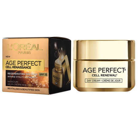 Crema De Zi Anti-rid L'Oreal Paris Age Perfect Cell-Renaissance, SPF15, 50 ml