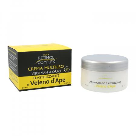 Crema multi-uz pentru fata, maini, corp cu venin de albine, Ultra Retinol Complex, 200 ml