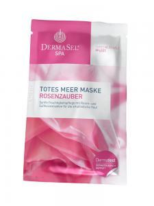 Masca de Fata Hidratanta DermaSel SPA cu Petale de Trandafir - 12 ml0