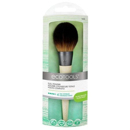 Pensula Machiaj Ecotools Full Powder pentru aplicarea pudrei0