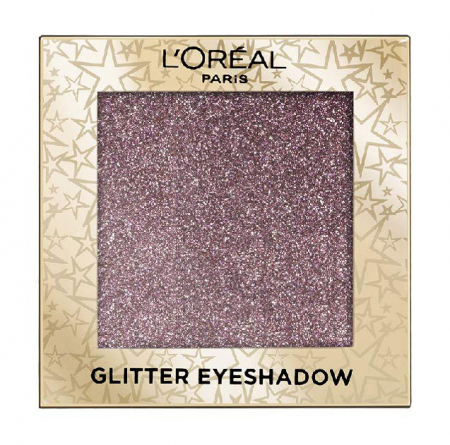 Fard de pleoape cu sclipici L'Oreal Paris Glitter Eyeshadow, 02 Purple Lights