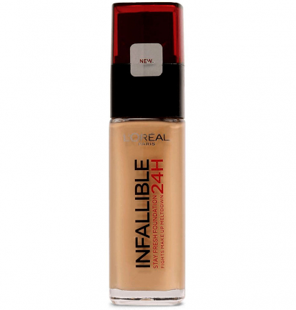 Fond De Ten L'Oreal Paris Infallible 24 Hr - 300 Amber, 30ml