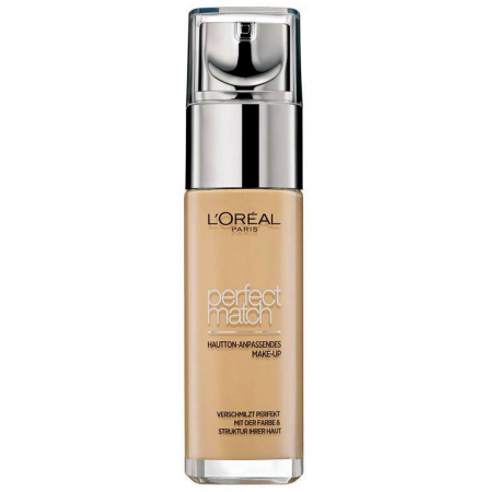 Fond De Ten L'Oreal Paris Perfect Match - 5.D/5.W Golden Sand, 30 ml0