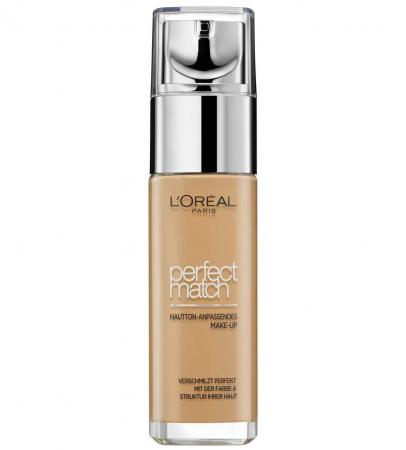Fond De Ten L'Oreal Paris Perfect Match - 7.D/7.W Golden Amber, 30 ml