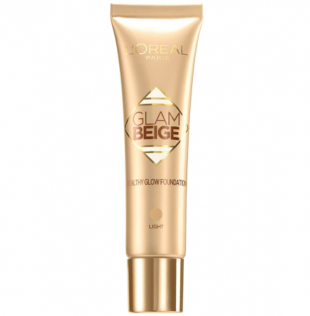 Fond de ten L'Oreal Paris Glam Beige Healthy Glow SPF 20, Light, 30 ml