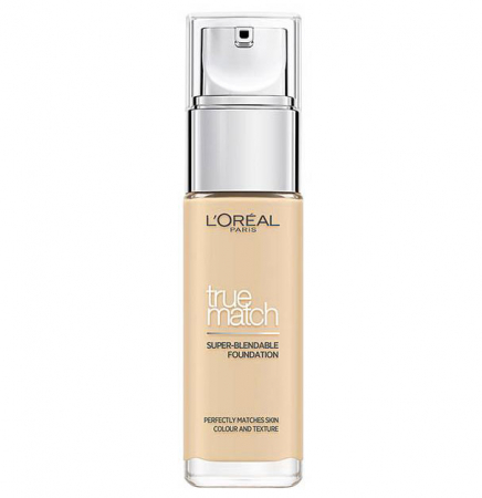Fond De Ten L'Oreal Paris True Match Super Blendable - 1.5.N Linen, 30 ml0