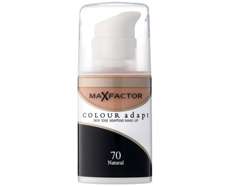 Fond de Ten Lichid MAX FACTOR Colour Adapt - 70 Natural, 34 ml